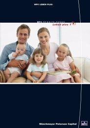MPC Leben plus 7 - Hauptprospekt - Fondsvermittlung24.de