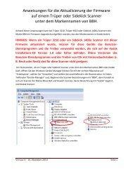 Anweisungen für die Aktualisierung der Firmware auf einem ... - Kodak