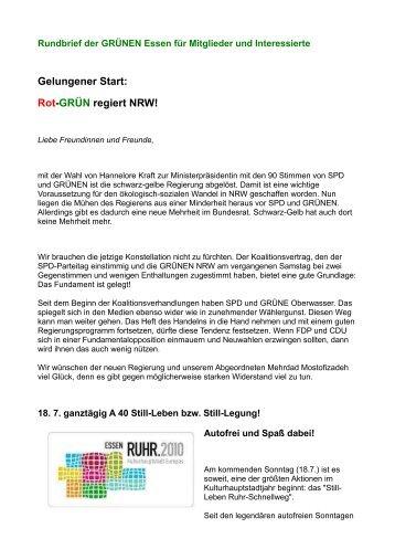 Rundbrief Juli 2010 - Die Grünen Essen