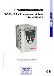 Handbuch VF-nC1 - Hardmeier Control