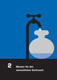 Kapitel 2 - Wasser für den menschlichen Verbrauch