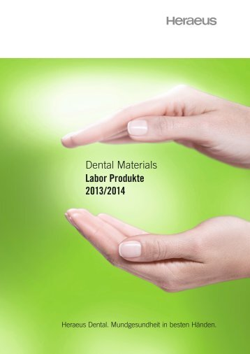 Dental Materials Labor Produkte 2013/2014