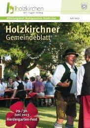 Juni 2013 - Holzkirchen