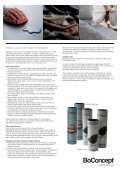 Boconcept Care Guide - Page 3