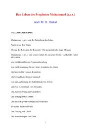 Das Leben des Propheten Muhammad (s.a.s.)\374 - TU Clausthal