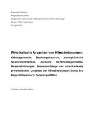 A.Siebert - Homepage.uni-tuebingen.de - Universität Tübingen