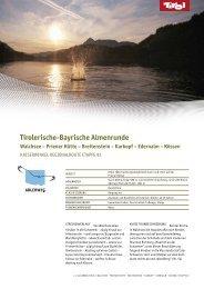 Tirolerische-Bayrische Almenrunde - Tiscover