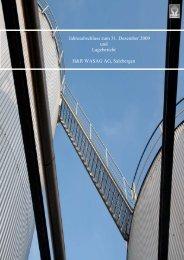 Lagebericht der H&R WASAG AG - 2009