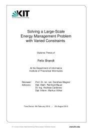 Solving a Large-Scale Energy Management Problem - Algorithmik I ...