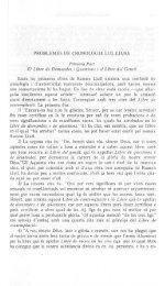 PROBLEMES DE CRONOLOGIA LUL.LIANA Primera Part El Libre ...