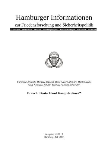 Hamburger Informationen Heft 50 - IFSH
