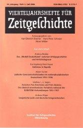 Vierteljahrshefte für Zeitgeschichte Jahrgang 54(2006) Heft 3