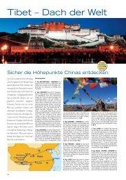 Tibet – Dach der Welt - TravelCMS
