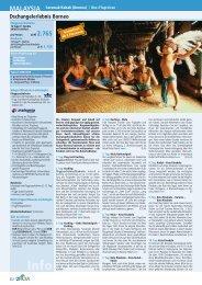 Dschungelerlebnis Borneo - TravelCMS
