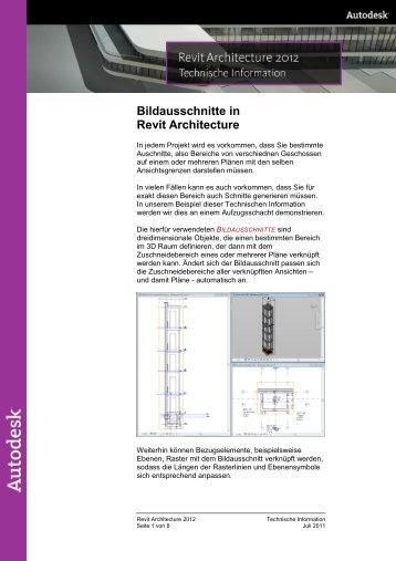 Bildausschnitte in Revit Architecture - Autodesk
