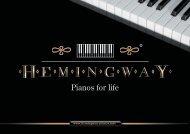 Pianos for life