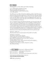 Herausgegeben von Peter Bekes und Volker Frederking © 2007 ...