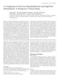 A Comparison of On-Line Hemodiafiltration and High-Flux ...