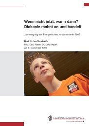 Jahresbericht 2006 - Johanneswerk
