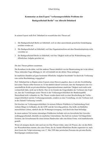 Körting zu Dehnhard - Die JPBerlin