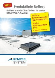 Produktlinie Reflect - KEMPER SYSTEM