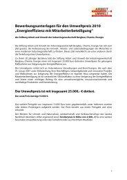 Energieeffizienz mit Mitarbeiterbeteiligung - Klaus Schneck
