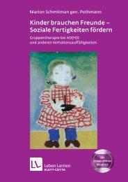 Kinder brauchen Freunde – Soziale Fertigkeiten fördern - Klett-Cotta