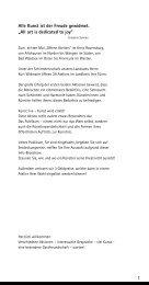 Kunst ist der Freude gewidmet. - Kulturserver Baden-Württemberg