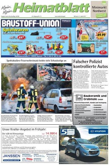 Falscher Polizist kontrollierte Autos - E-Paper - Emder Zeitung
