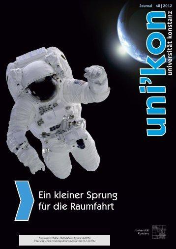 Ein kleiner Sprung für die Raumfahrt - KOPS - Universität Konstanz