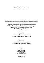 Institutionentransfer oder institutionelle Interpenetration ... - KOPS