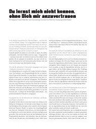 Der Regisseur Daniel Wahl über seine Inszenierung. Das Interview ...