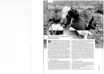 theater heute - Kulturserver-Hamburg.de