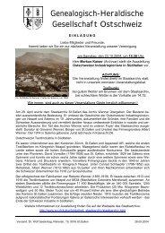 Rundschreiben Oktober 2004 mit Kurzbeschreibung