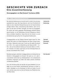GESCHICHTE VON ZURZACH - EYE Communications AG
