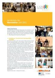 Newsletter Juni 2011 - Lokale Agenda 21 Wien