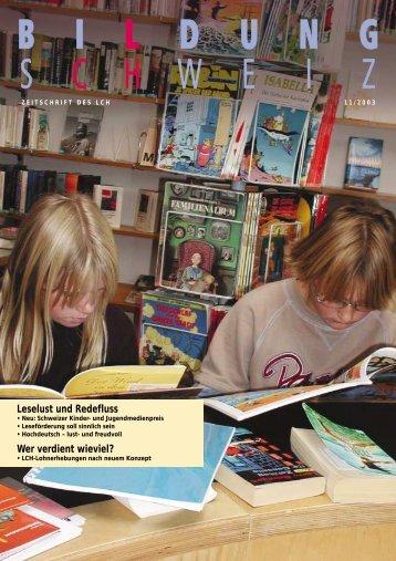 Heft 11/03 - beim LCH
