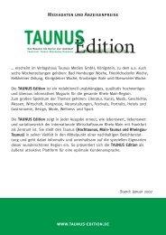 Media A4 3_2007 - TAUNUS EDITION