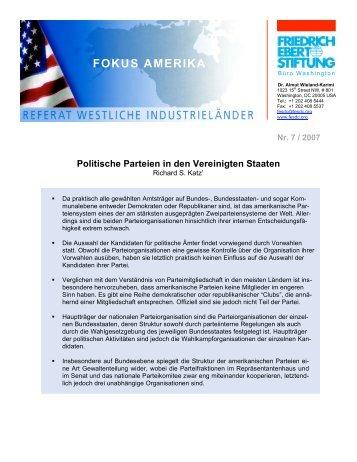 Politische Parteien in den USA