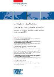 europäische Sozialdemokratie - Bibliothek der Friedrich-Ebert-Stiftung