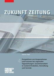Perspektiven von Kooperationen und Fusionen bei regionalen ...