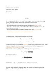 Stundenprotokoll vom 11 - Lutherschule