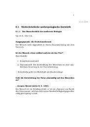 0.1 Nichtchristliche anthropologische Entwürfe - M19s28.dyndns.org