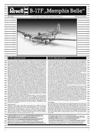 "B-17F ""Memphis Belle"" - Hobbico"
