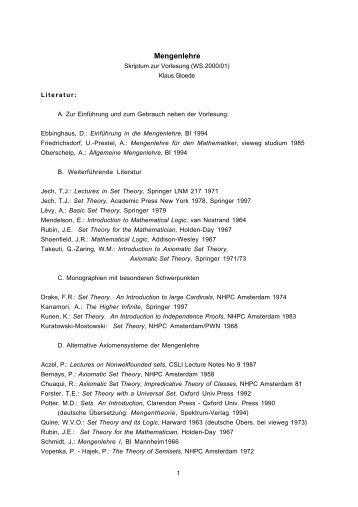 (Mg I_1 Kap A I ) - Fachschaft MathPhys an der Uni Heidelberg
