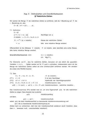 (Mg I_2 Kap A II) - Fachschaft MathPhys an der Uni Heidelberg