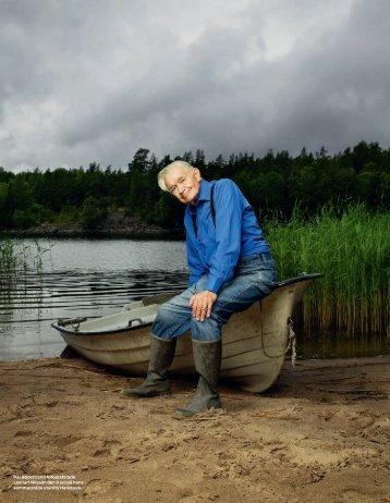Pär Bäckstrand fotograferade Lennart Nilsson den 9 juli på ... - Cision