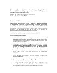 Notulen van de Algemene Vergadering van Aandeelhouders van ...