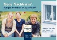 Junges Wohnen in Altendorf - Essen