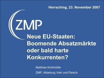 Neue EU-Staaten: Boomende Absatzmärkte oder bald harte Konkurrenten?